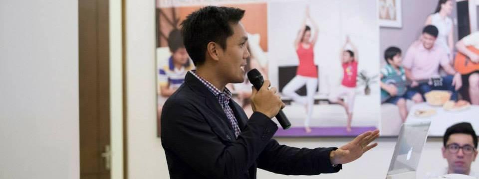 Toby Claudio JCI Alabang Membership Meeting