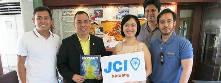 Rotary Club of Alabang and JCI Alabang meets