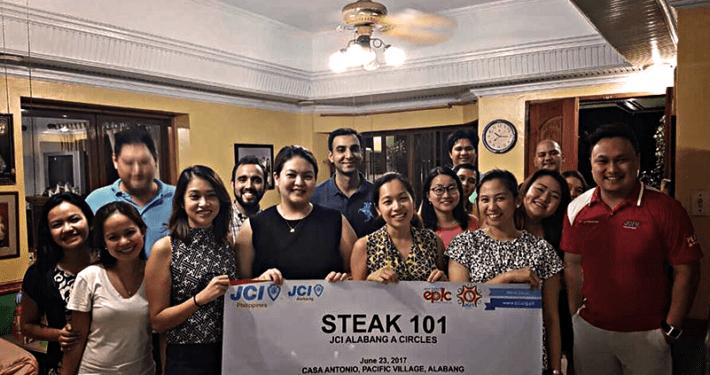 JCI Alabang A-Circles - Steak 101