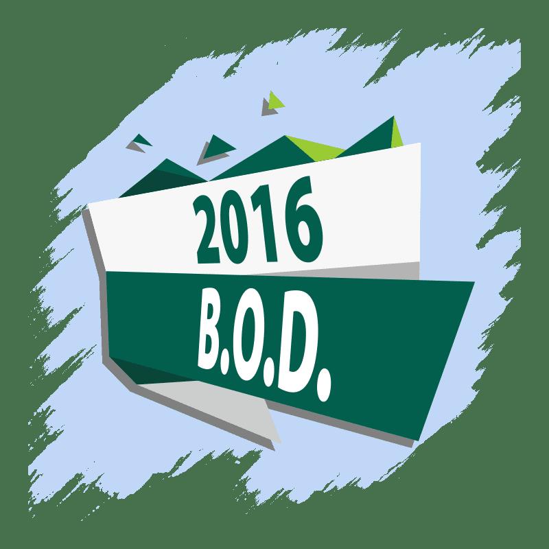2016 BOD
