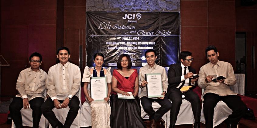 Twinning with JCI Cebu Inc during the 2014 Induction of JCI Alabang