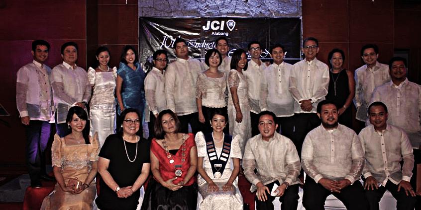 JCI Alabang Induction 2014
