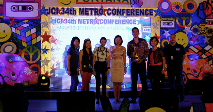 Titan Award for Stairway to Haven 2014 JCI Metro Area Conference, Fontana