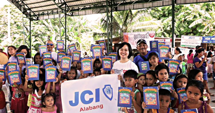 Books N' Roses in Got Heart 2015 books donated by Save the Children Philippines
