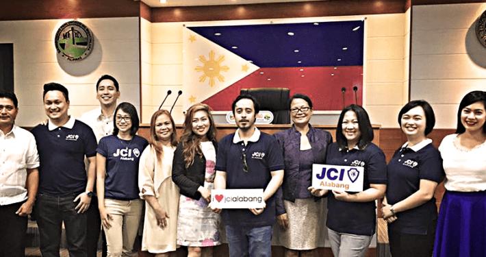 JCI Alabang visits the Muntinlupa City Council Jul 2016