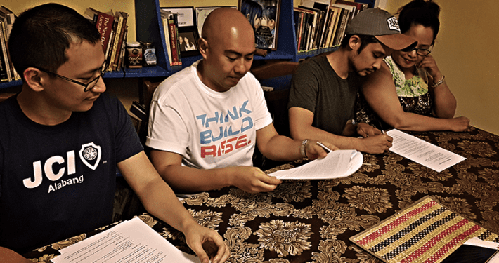 MOA Signing for Peace in a Cup